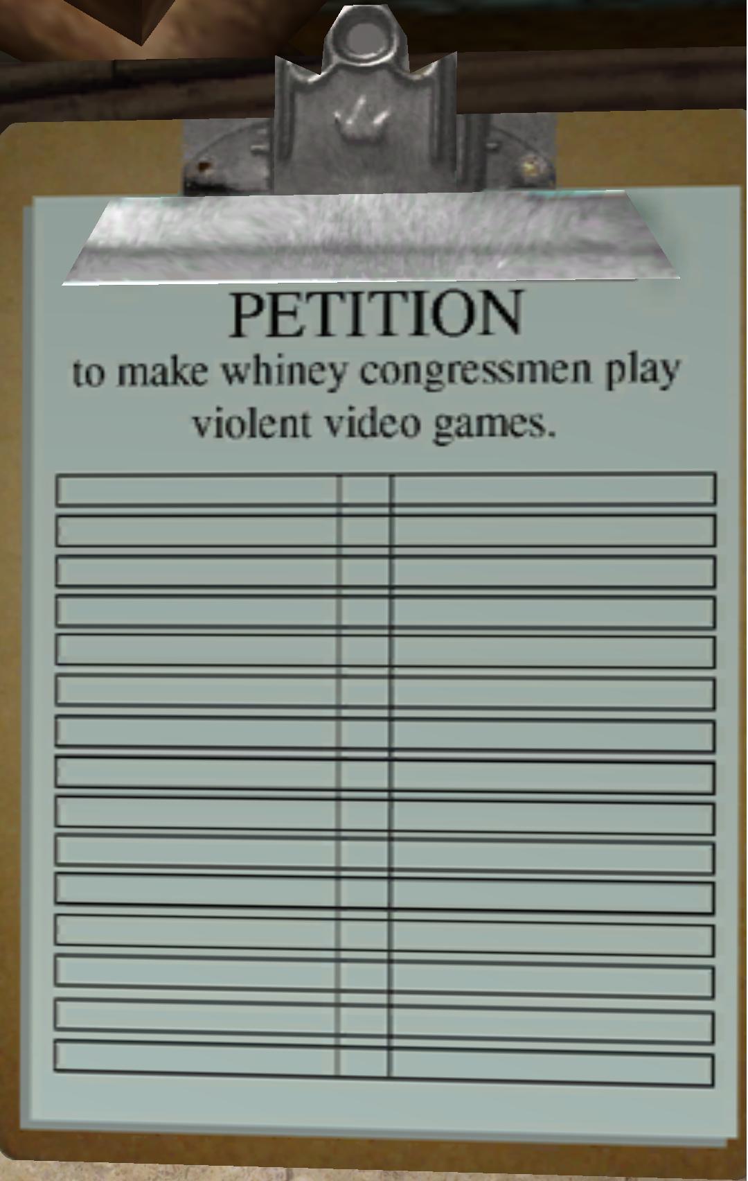 how do you make a petition