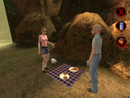 Picnic in Forest 001