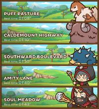 Caldemount Routes