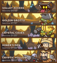 Valley of Gold Routes