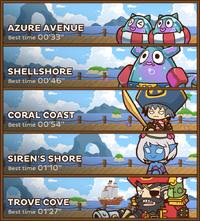 Shello Bay Routes