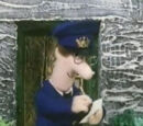 Postman Pat takes a Message