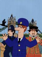 Postman Pat in London