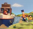 Postman Pat's Island Shipwreck