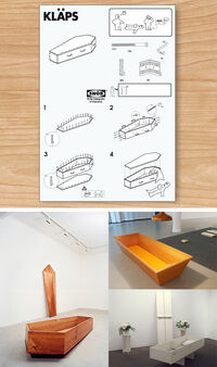 Ikea coffin