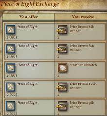 Piece of Eight Exchange