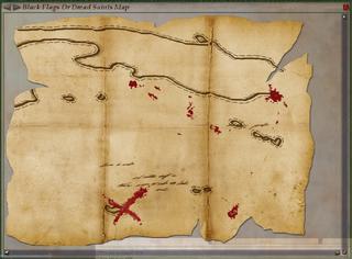Black Flags or Dread Saints Map