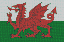 Flag of Wales-canvas2