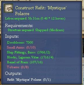 Refit Mystique Recipe