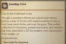 Lineship Crew