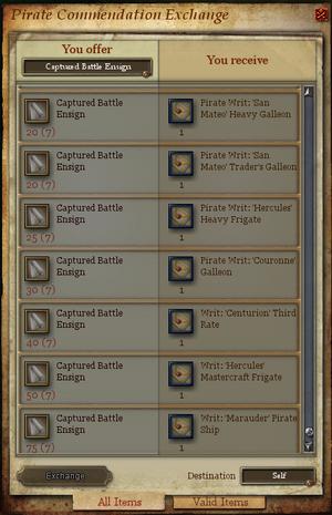 Captured Battle Ensign