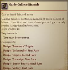 Guido Galileis Binnacle