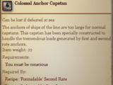 Colossal Anchor Capstan
