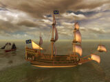 'Couronne' Galleon