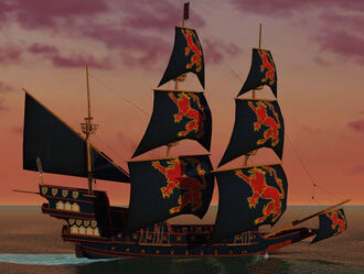 San Mateo Abby Refit Galleon lvl 50