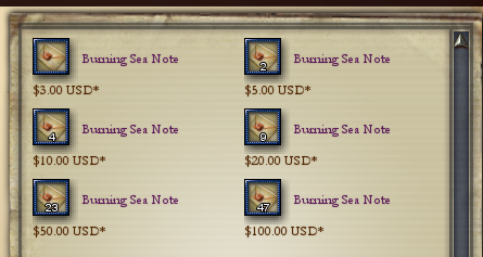 Buy Notes