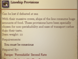 Lineship Provisions
