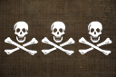 3 Skulls Flag