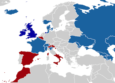 1739 - Paradoxisan War Map