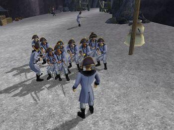 Francs brigade blue