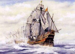Spanish ship San Mateo