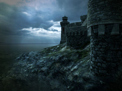 Medieval castle 3 by indigodeep-d37upg2