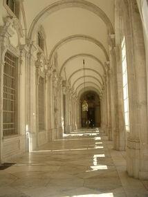 Royal-palace-hallway