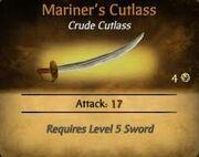 Mariner's Cutlass