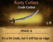 Rusty Cutlass