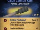 Cajun Cannon Ram