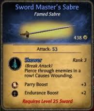 Sword Master's Sabre