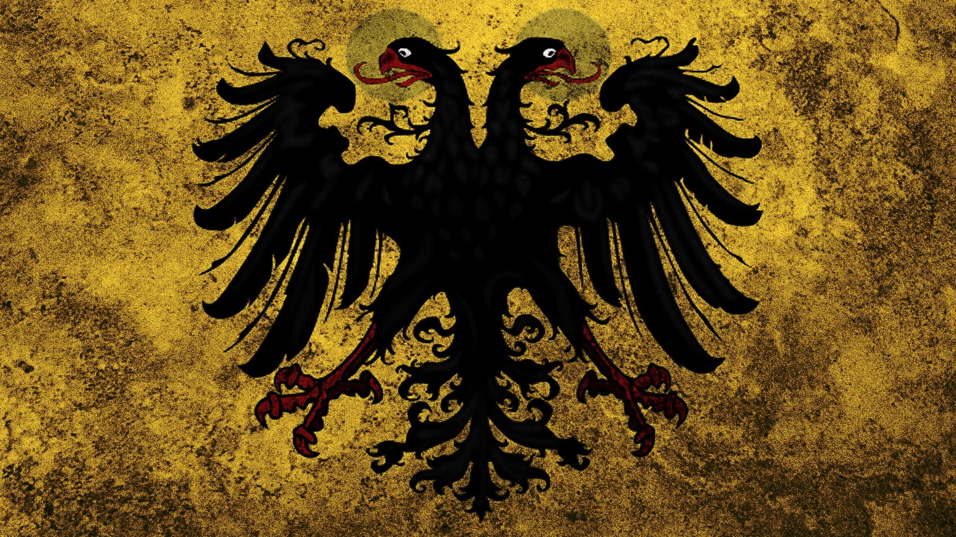 Holy Roman Empire Flag Digital Art Hd Wallpaper 1920x1080 5563