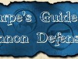 Sharpe's Guide to Cannon Defense
