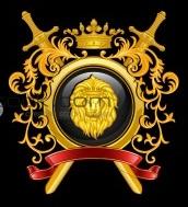 Crossed Swords Lions Head shield