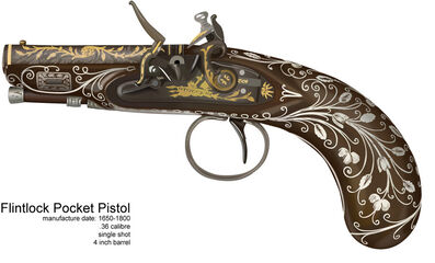 Flintlock Pocket Pistol by Nakatak