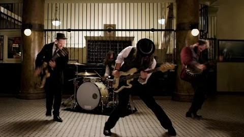"""The Silent Comedy - """"Blood On The Rails"""" Official Video"""