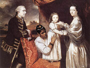 George Clive and his Family with an Indian Maid 1765