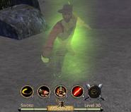 Lost Sword of El Patron ghost form