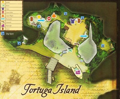 Old Tortuga Map