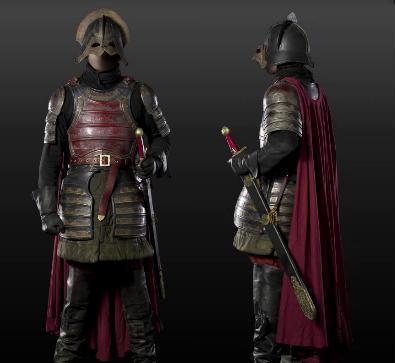 Rangerknight armour