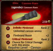 Elite Cannon Ram