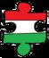 Hungary puzzle transparent