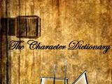 POTCO Character Dictionary