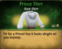 PrinceShirt