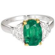 Richard's emerald ring