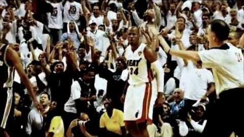 Coming Soon White Hot HEAT Playoffs (Ray Allen's shot)