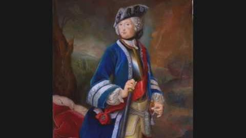 Frederick II and Prussian Anthem, Friedrich II und Preußen Lied