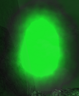 Marcs Ghostly Green Orb