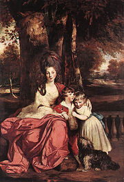 Lady Delme and her Children 1777 80
