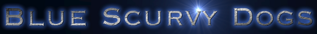Blue Scurvy Dogs Logo